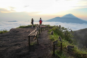 Bali: Mount Batur Sunrise Hike and Hidden Waterfall