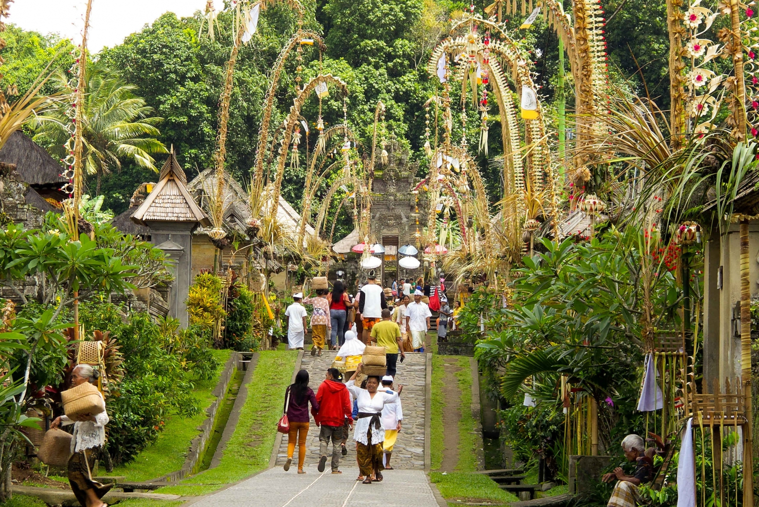 Full-Day Trip to Penglipuran Village and Bamboo Forest