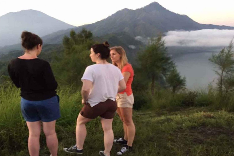 Jungle Sunrise Trek, Lake Crossing and Hot Springs