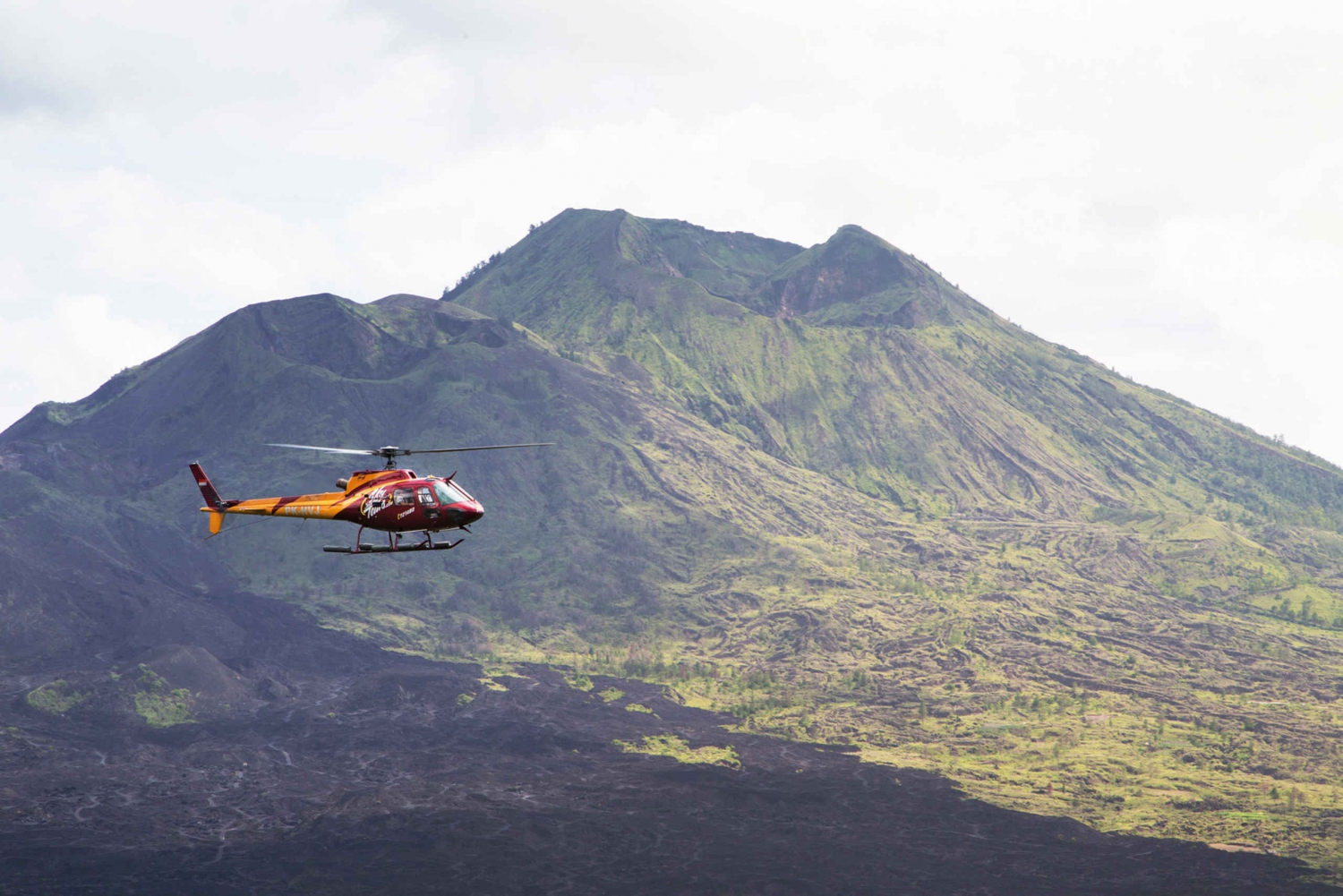 Kintamani Volcano 30-Minute Scenic Helicopter Tour