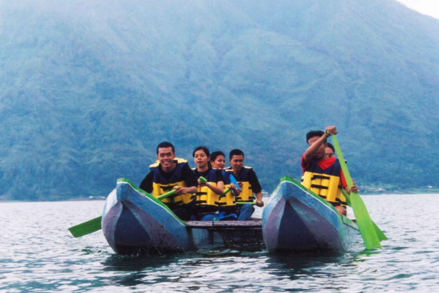 Lake Batur: Traditional Canoe or Kayak, Natural Hot Spring