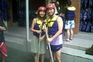 Telaga Waja: White Water Rafting with Lunch
