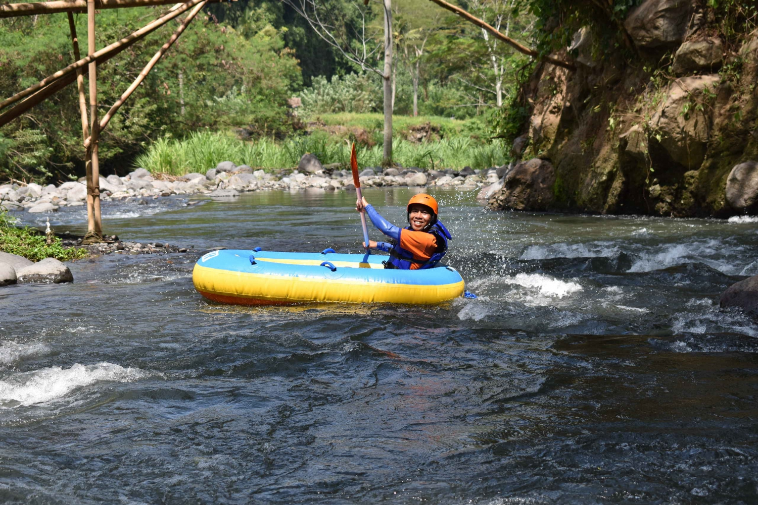 Tukad Under River Tubing Expedition