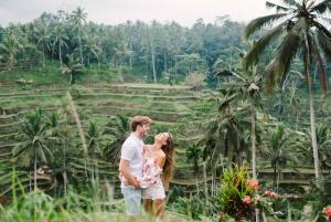 Ubud: Floating Breakfast, Jungle Swing & Spa Romantic Tour