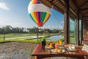 Ubud: Hot Air Balloon Experience