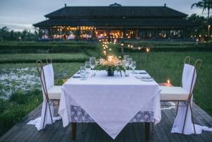 Ubud: Romantic Dinner among the Rice Fields