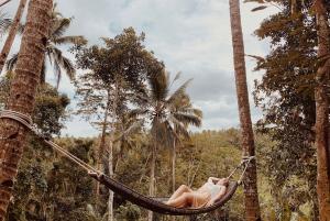 Ubud: Sky Bike and Jungle Swing Experience with Transfer