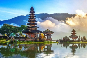 Ulun Danu Temple, Waterfall and Secret Garden Tour