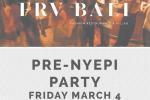 FRV Bali & La Sal Restaurant Pre-Nyepi Party