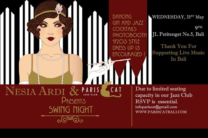 1920s Swing Night at Paris Cat