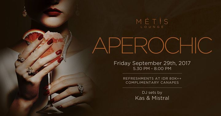 Aperochic at Metis Lounge