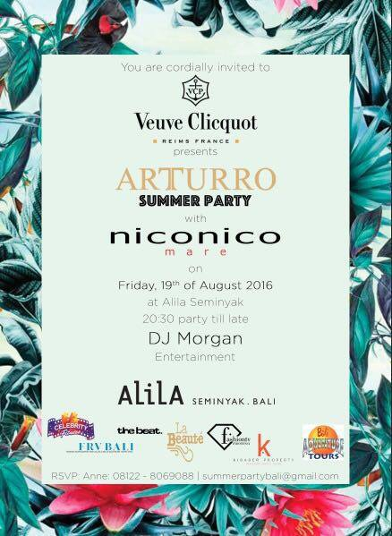 Arturro Summer Party at Alila