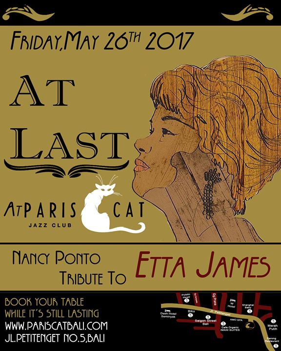 At Last, an Etta James tribute night