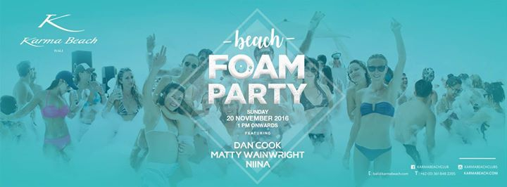 Beach FOAM PARTY