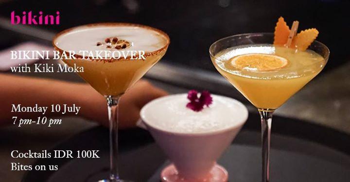 Bikini Bar Takeover: Arey Barker x Kiki Moka