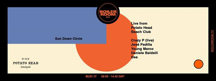 Boiler Room live from Potato Head Beach Club