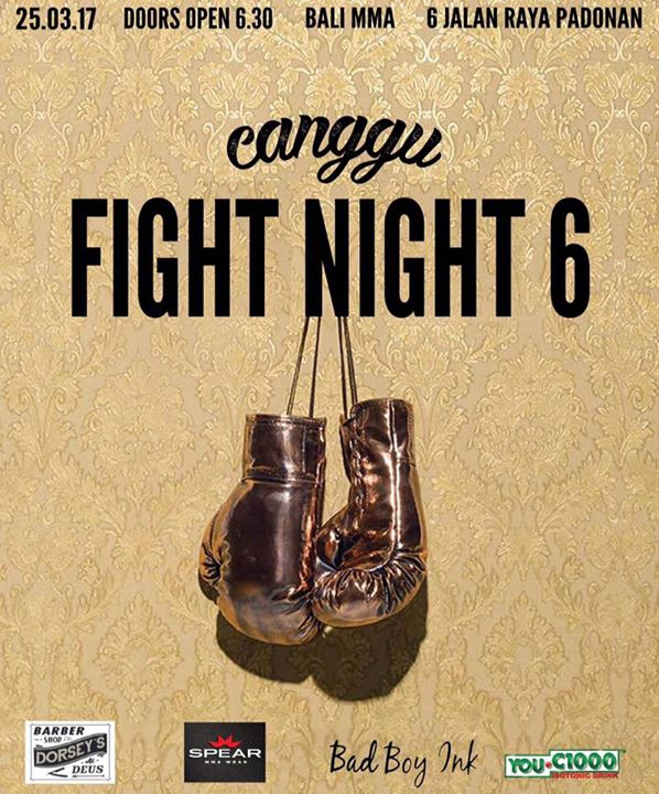 Canggu Fight Night 6