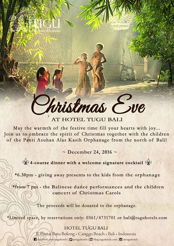 Christmas Eve at Tugu Hotel