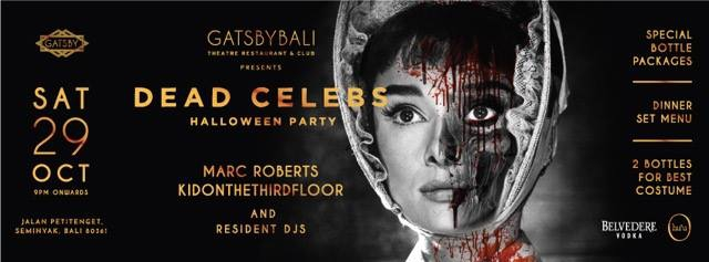 Dead Celebs Halloween Party