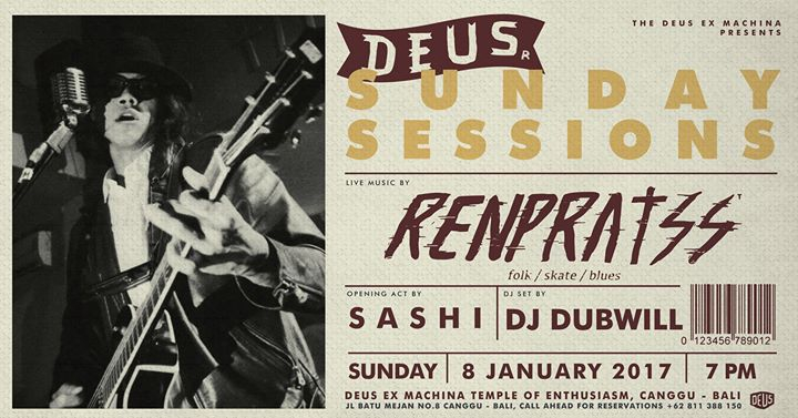 Deus Sunday Sessions with Renpratss