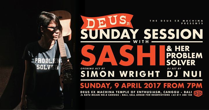 Deus Sunday Sessions with Sashi