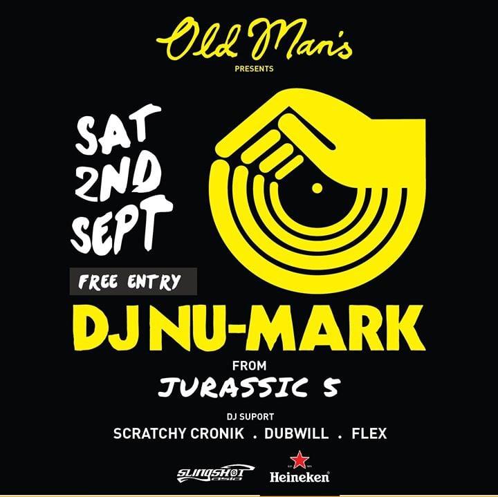 DJ NU-Mark (from Jurassic 5)