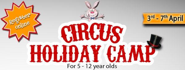 Easter Circus Camp 2017