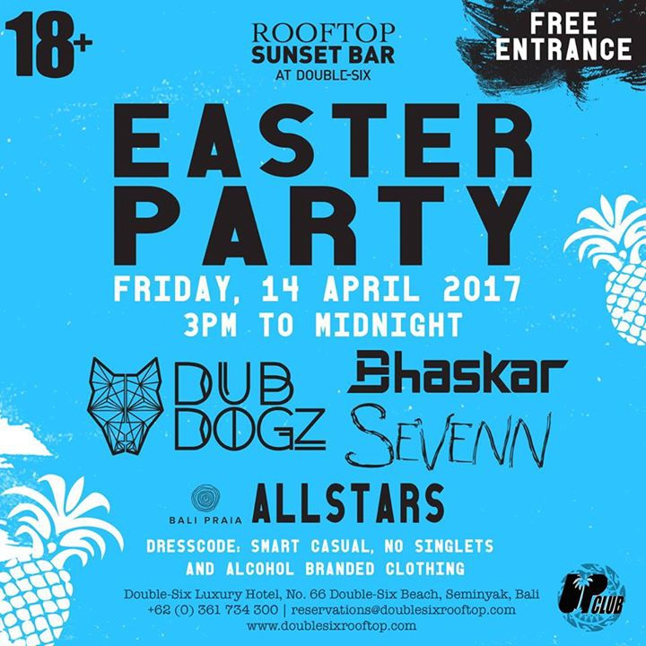 Easter Party at Rooftop Sunset Bar