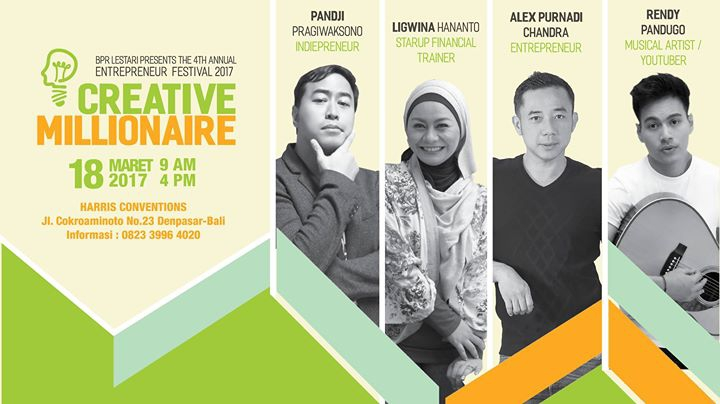 Entrepreneur Festival 2017 - Creative Millionaire