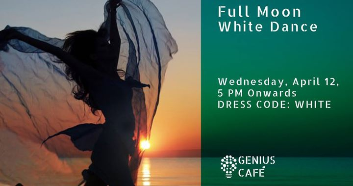 Full Moon White Dance on the Beach | Feat DJ Poyan Shifter