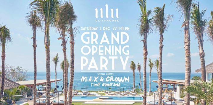 Grand Opening Party at Ulu Cliffhouse