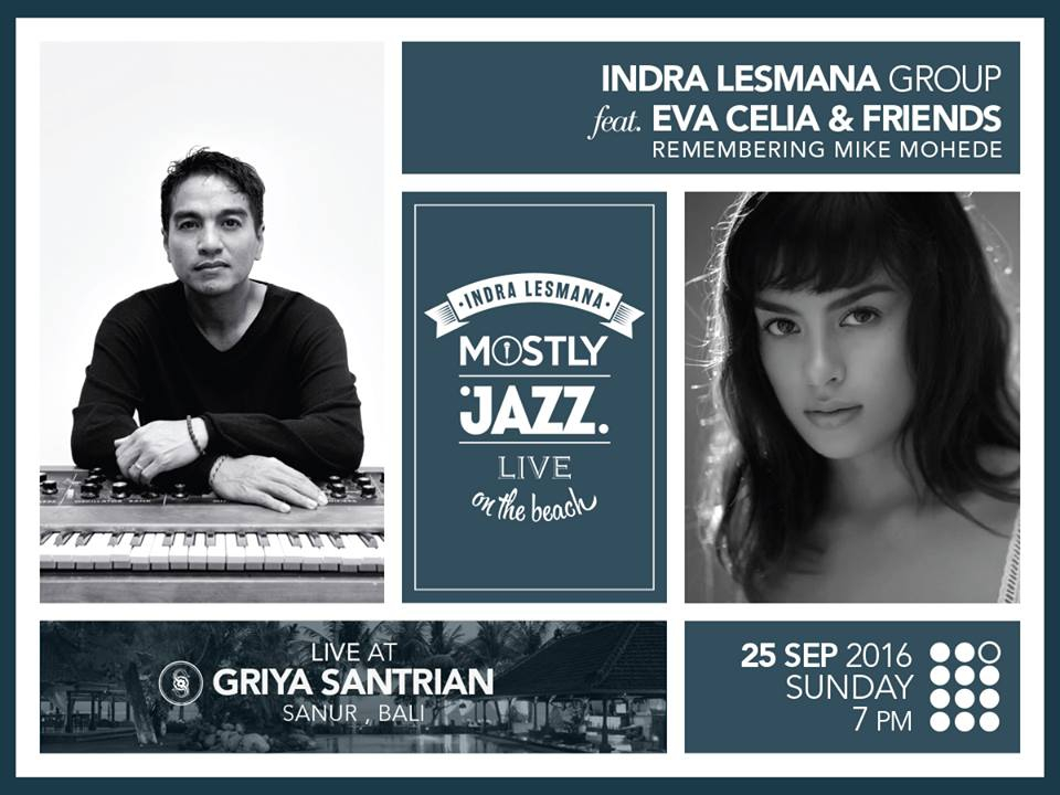 Indra Lesmana Sunday Mostly Jazz at Griya Santrian