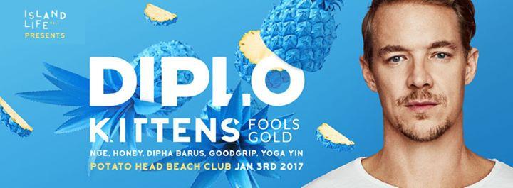 Island Life Bali presents Diplo