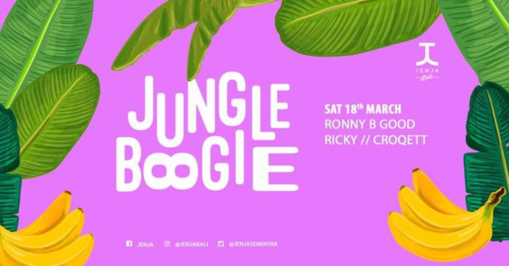 Jenja Foyer x Jungle Boogie