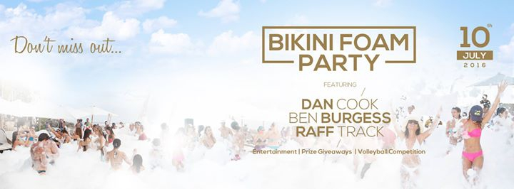 Karma Beach Presents Bikini Foam Party