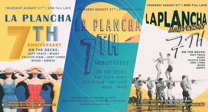 La Plancha 7th Anniversary