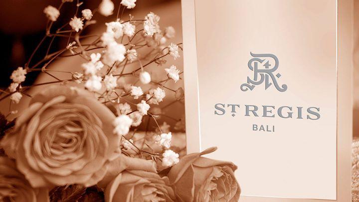 La vie en rose at The St. Regis Bali Resort