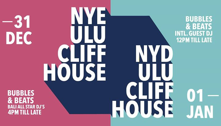 New Years Eve and New Years Day @Ulu Cliffhouse