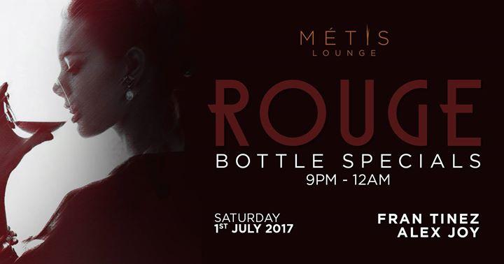 Rouge Saturday at Metis Lounge