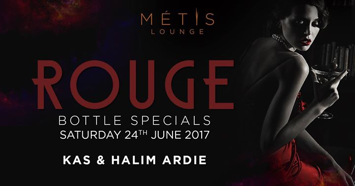 Rouge Saturdays at Metis Lounge