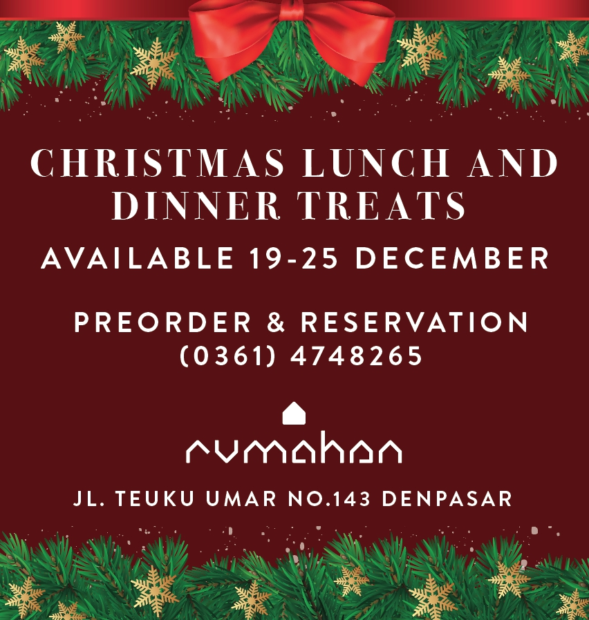 Rumahan Christmas Lunch & Dinner Treats