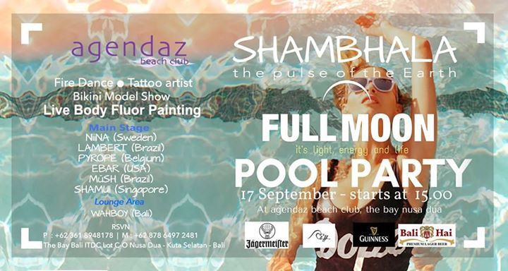 Shambala Full Moon Party@