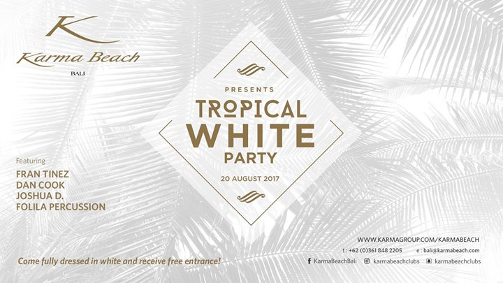 Tropical White Party