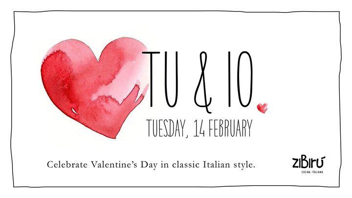 Tu & Io: Celebrate Valentine's Day Italian style