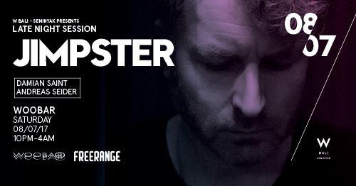 W Bali Presents Jimpster