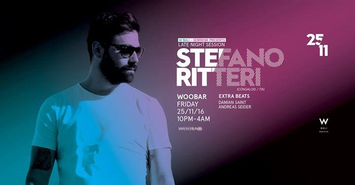 W Bali Presents Stefano Ritteri