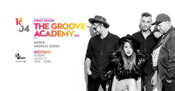 W Bali Presents Sunset Session ft The Groove Academy (live)