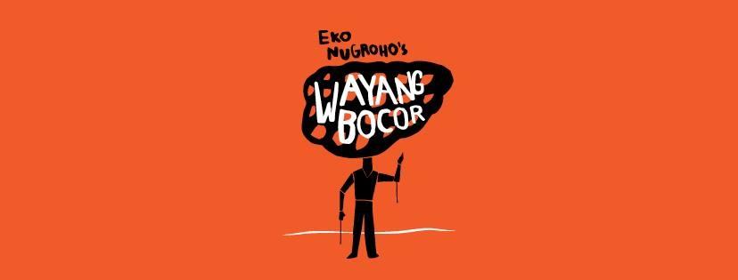 Wayang Bocor puppet show by Eko Nugroho