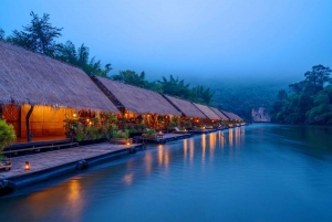 2-Day River Kwai Highlights & Jungle Rafts Floating Hotel