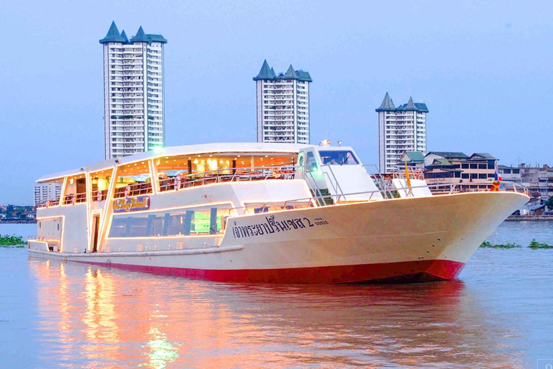 2-Hour Dinner Cruise on the Chao Phraya Princess